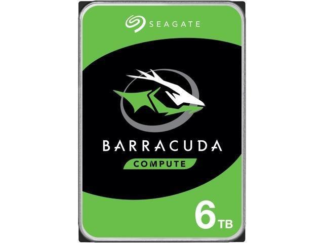 """Seagate 6TB BarraCuda35 3,5""""/SATA/7200/256MB"""