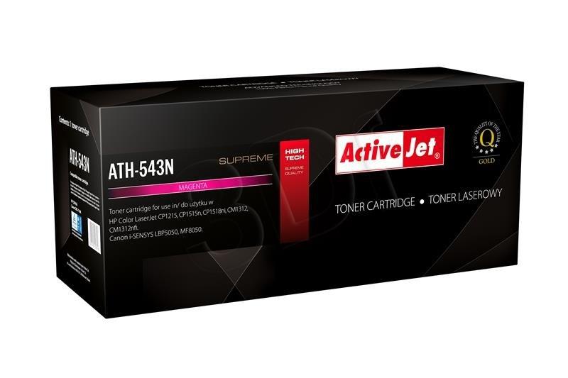 Toner ActiveJet pre HP CB543A Magenta (CRG-716M) LJ 1215/1515 ATH-543N
