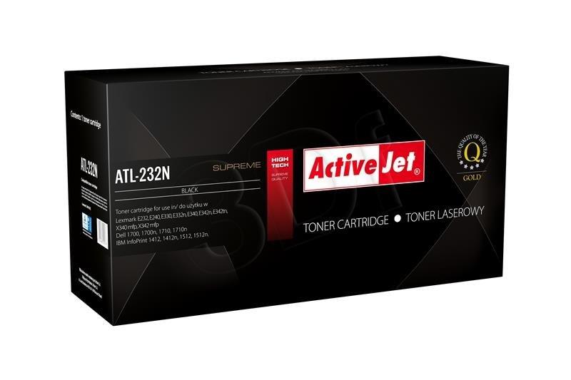 Toner ActiveJet pre Lexmark 24016SE ATL-232N 3000str.