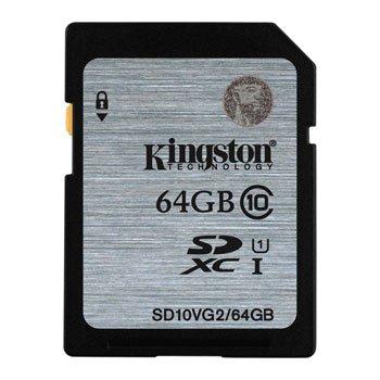 64GB Kingston SDXC karta Class 10, UHS-I 45MB/s