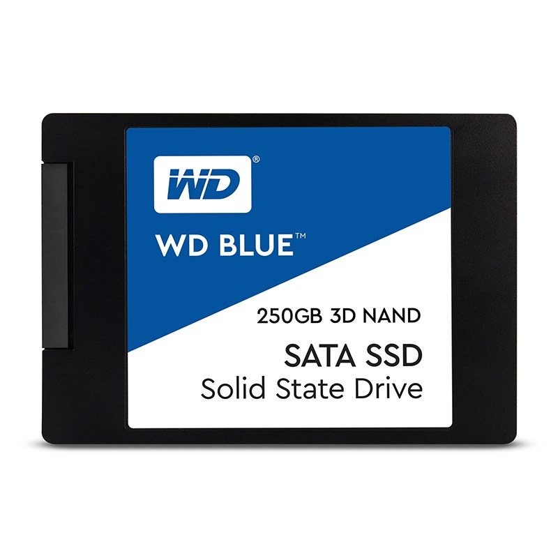 "WD 250GB Blue™ SSD 2,5"" SATA III, 560MB/530MB, 7mm, 3D Nand"