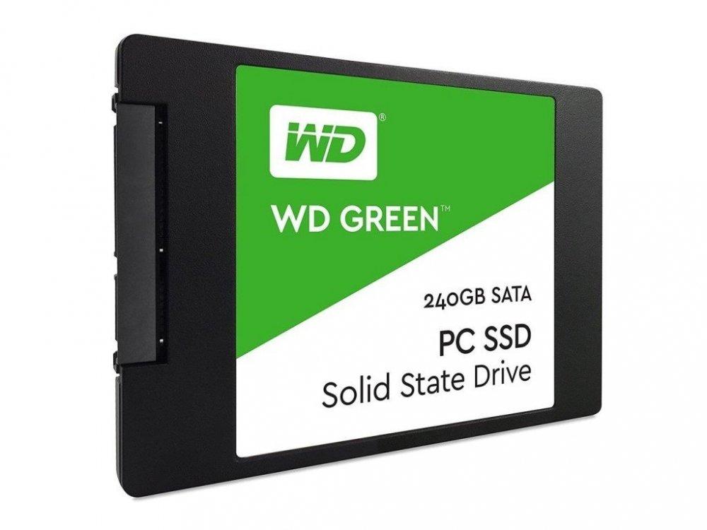"""WD 240GB Green™ SSD 2,5"""" SATA III, 540MB/465MB, 7mm"""