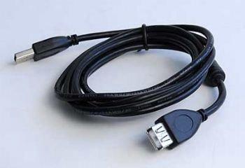 Cablexpert kábel USB A-B 4,5m 2.0 HQ s feritom