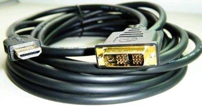 Cablexpert kábel HDMI-DVI 0,5m, 1.3, M/M tienený, pozlátené kontakty