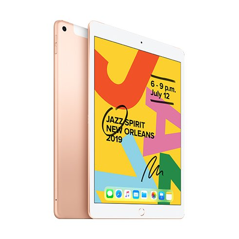 iPad 128GB Wi-Fi + Cellular Gold (2019)