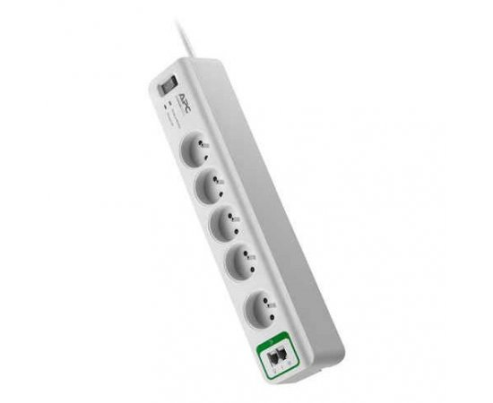 APC 5 outlets with phone protection 230V FR
