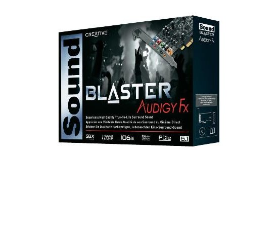 CREATIVE Sound Blaster Audigy FX PCI Expres