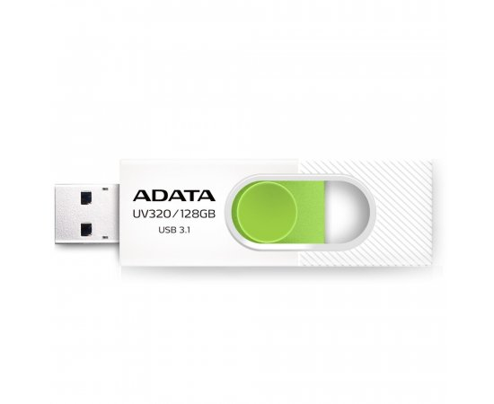 ADATA USB UV320 64GB white/green (USB 3.0)
