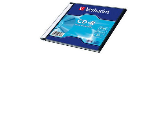 VERBATIM CD-R DL 700MB, 52 Extra Prot. Slim Box