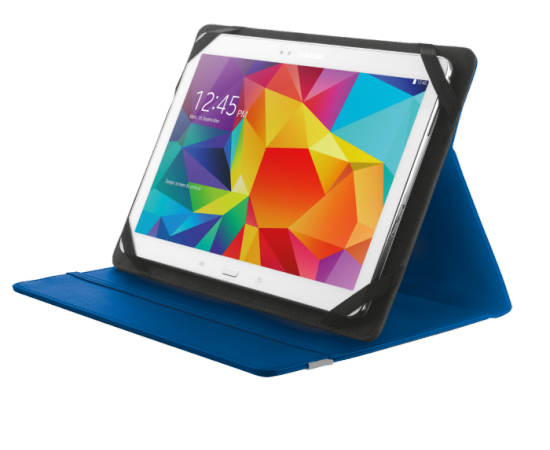 TRUST Primo Folio Case with Stand for 10'' tablets - blue
