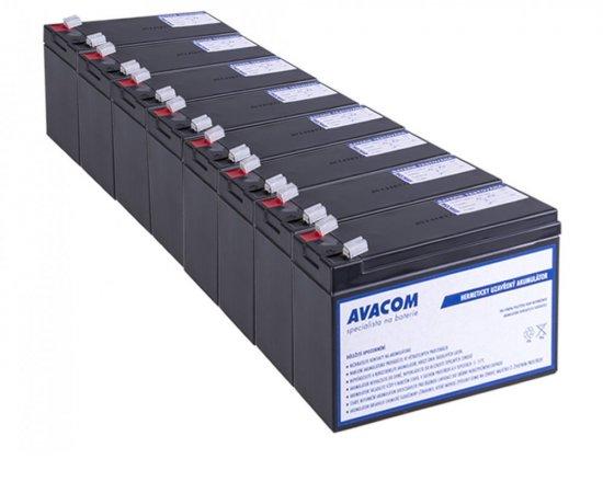 Bateriový kit AVACOM AVA-RBC105-KIT náhrada pro renovaci RBC105 (8ks baterií) + internetová televízia SledovanieTV na dva mesiace v hodnote 11,98 €