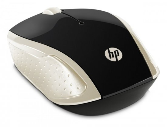 HP Wireless Mouse 200 Silk Gold)