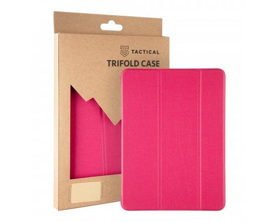Tactical Book Tri Fold Pouzdro pro Samsung T500/T505 Galaxy Tab A7 10.4 Pink