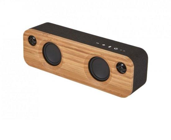 MARLEY Get Together Mini BT - Signature Black, přenosný audio systém s Bluetooth + internetová televízia SledovanieTV na dva mesiace v hodnote 11,98 €