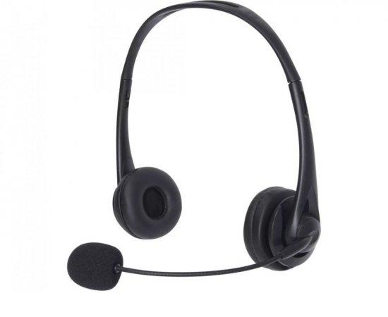 Sandberg PC sluchátka USB Office Headset s mikrofonem, černá