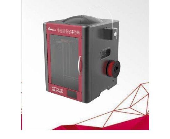 3D tiskárna XYZ da Vinci Super (ABS, PLA,Nylon,PC,PETG,TPE,PVA,30x30x30cm,50-400 mikronů, USB 2.0,WIFI)