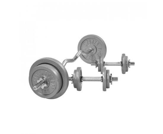 Gorilla Sports Činkový nakladací set 70 kg - liatinový 30/31 mm