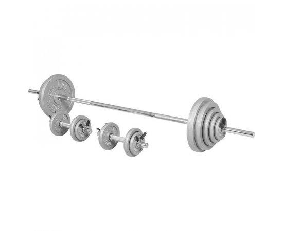 Gorilla Sports Činkový nakladací set 100 kg liatinový