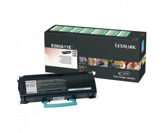 Lexmark originál toner E260A11E, black, 3500str., return, Lexmark E260, E360, E460 + internetová televízia SledovanieTV na dva mesiace v hodnote 11,98 €
