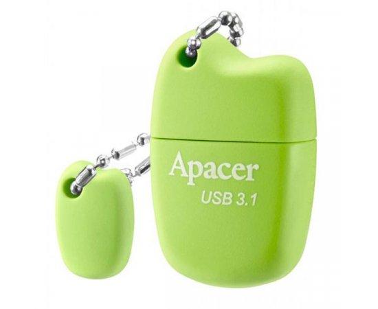 Apacer USB flash disk, 3.1, 16GB, AH159, zelená, AP16GAH159G-1, s krytkou