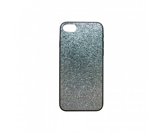 Iphone 7/8 šedé gumené puzdro, Bling
