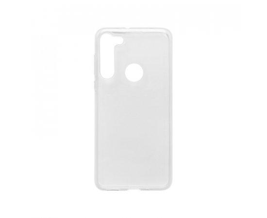 Motorola G8 priehľadné gumené puzdro, nelepivé
