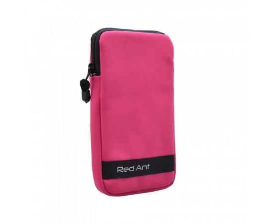 4XL ružové Outdoorové Softshell puzdro RedAnt
