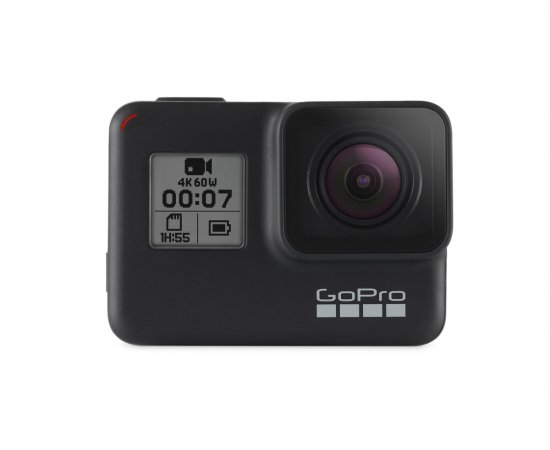 GOPRO HERO7 BLACK CHDHX-701-RW + DARCEK GOPRO TRAVEL KIT