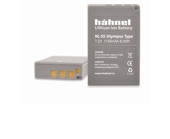 HAHNEL HL-S5/S50-OLYMPUS BLS-5/BLS-50 1150MAH,7.2V,8.3WH