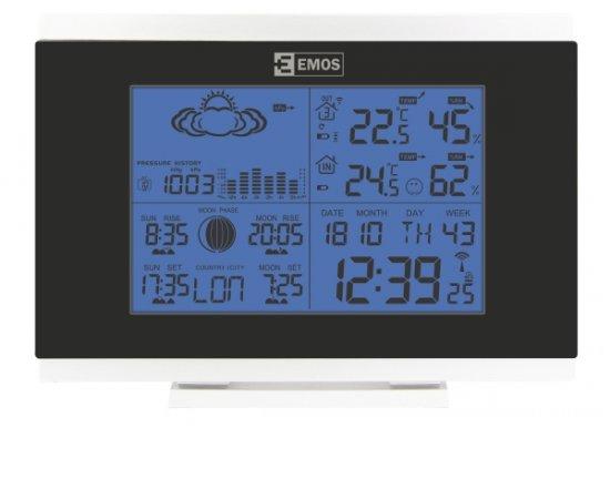 EMOS E5018 LCD DOMACA BEZDROTOVA METEOSTANICA AOK-5018B