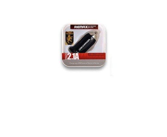 REMAX AA-053 AUTONABIJACKA USB 2,1A RCC101 CIERNA