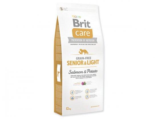 BRIT CARE GRAIN-FREE SENIOR & LIGHT SALMON & POTATO 12 KG (294-132733)