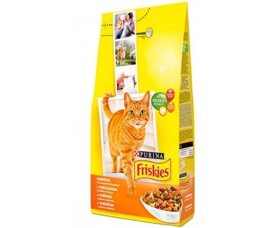 FRISKIES CAT GRAN KURA SO ZELENINOU 10KG