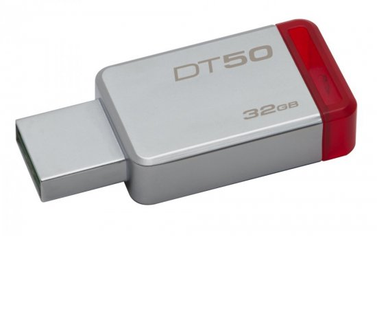 KINGSTON 32GB USB 3.0 DATATRAVELER 50 (METAL/RED) DT50/32GB