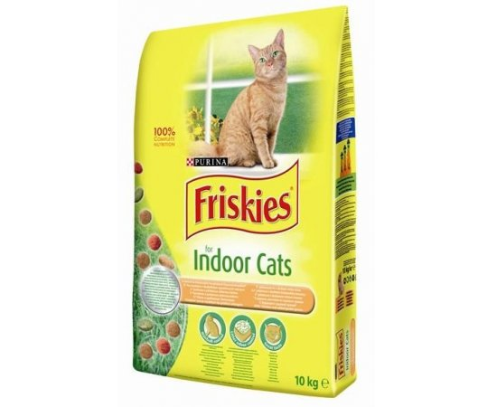 FRISKIES CAT INDOOR GRAN 10KG
