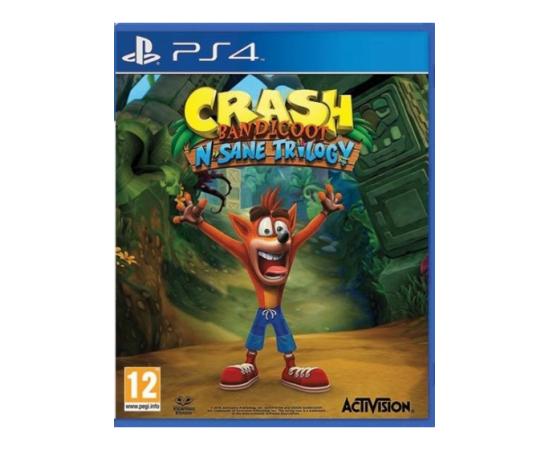 PS4 CRASH BANDICOOT N. SANE TRILOGY