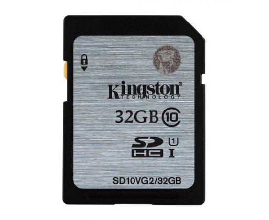 KINGSTON SDHC 32GB CLASS 10 (SD10VG2/32GB) SD10VG2/32GB