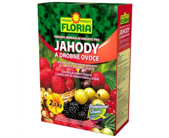 AGRO HNOJIVO FLORIA OM PRE JAHODY A OVOCIE 2,5 KG /702721/