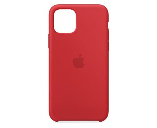 APPLE IPHONE 11 PRO SILICONE CASE - RED, MWYH2ZM/A
