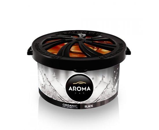 AROMA CAR ORGANIC 40 G BLACK