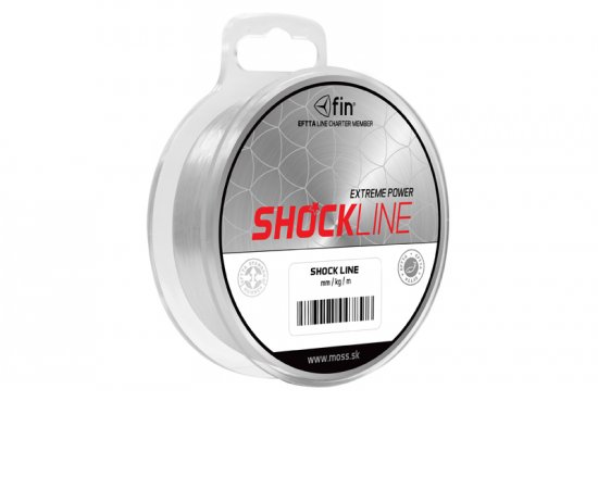 FIN SHOCK LINE 80M 0,40MM 22LBS, 500706040