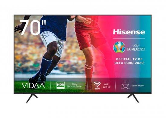 HISENSE 70A7100F + internetová televízia SledovanieTV na dva mesiace v hodnote 11,98 €