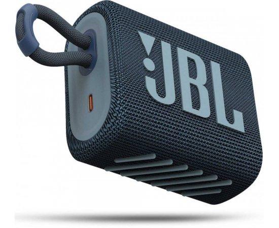 JBL GO3 BLUE + internetová televízia SledovanieTV na dva mesiace v hodnote 11,98 €