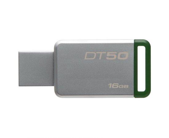 KINGSTON 16GB USB 3.0 DATATRAVELER 50 (METAL/GREEN), DT50/16GB
