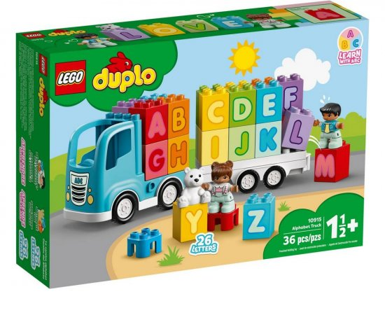 LEGO DUPLO MY FIRST NAKLADIAK S ABECEDOU /10915/ + darček OSMOZA ANTIBAKTRIALNY GEL NA RUKY 100ML
