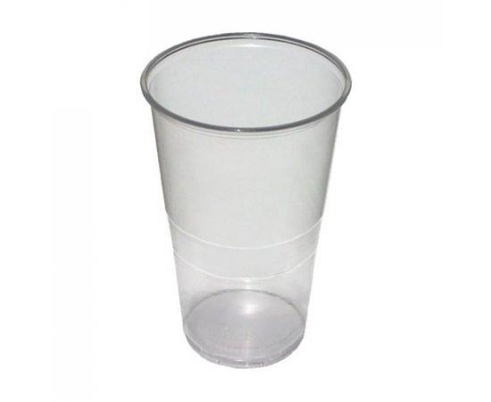 PLASTIC POHAR 0,5 L/10 KS TRANSPARENTNY