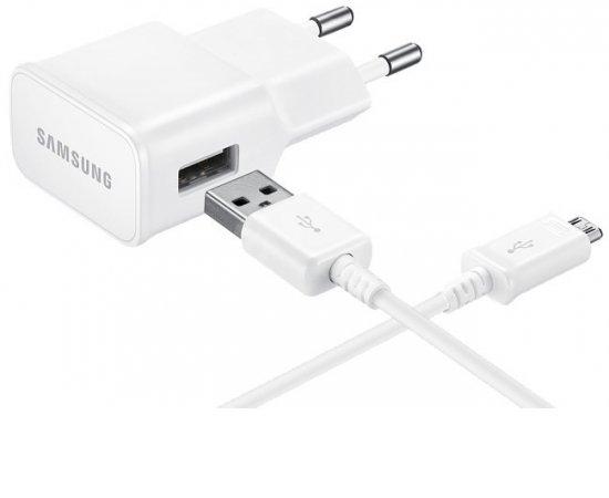 SAMSUNG NABIJACKA MICRO USB, BIELA, EP-TA20EWEUGWW