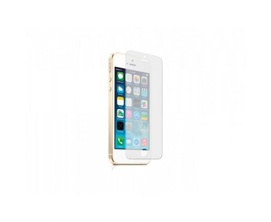 SBS SCREEN PROTECTOR, GLASS EFFECT AND HIGH RESISTENT FOR IPHONE 5/5S/5C