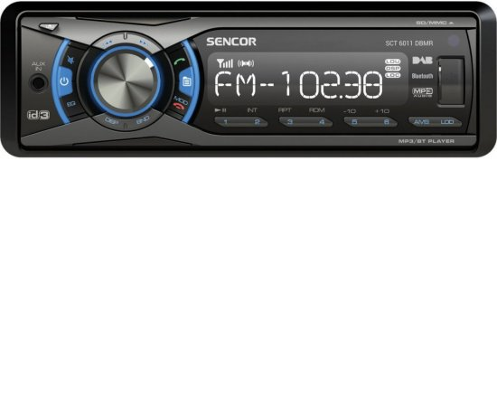 SENCOR SCT 6011DBMR DAB+/USB/SD