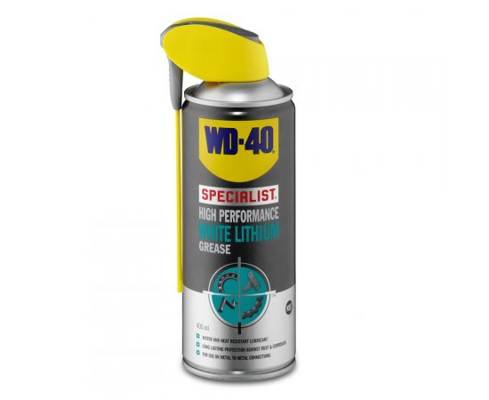 WD-40 SPECIALIST WHITE LITHIUM GREASE 400 ML